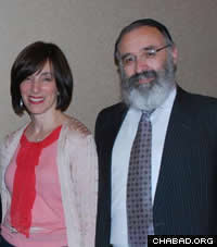 Rabbi Yossi and Dassie New, co-directors of Chabad-Lubavitch of Georgia