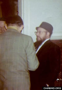 From his earliest days as an emissary, Rabbi Fogelman was actively involved in spreading Judaism everywhere in the region.
