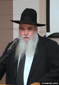 Rabbi Moshe Kotlarsky. (Photo: Bentzi Sasson)