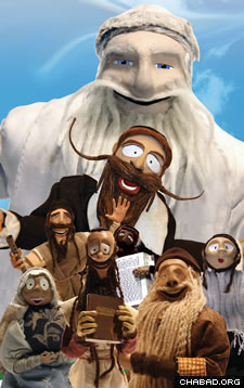 """Master of a Good Name,"" features more than 100 handcrafted clay dolls playing the roles of Chassidic Jews in European shtetls, where they find hope, faith, miracles and uplifted spirits through their rebbe, the Baal Shem Tov."