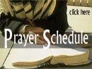 Prayer Schedule