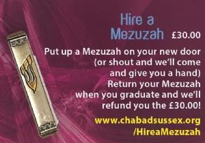 Hire a Mezuzah