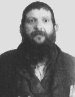 Rabbi Yaakov Zecharia (Yankel) Maskalik. This photo was taken between his final arrest and subsequent execution by the Soviets.