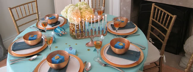 Craft It Jewish: Throw a Beautiful Chanukah Party