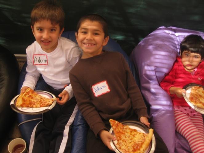 Children Pizza Sukkot