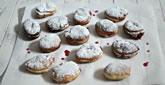 Cranberry Jelly Sufganiyot (Doughnuts)