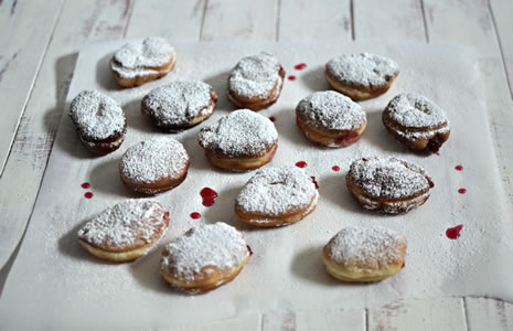 adventurous this Chanukah ? Give these traditional jelly doughnuts ...
