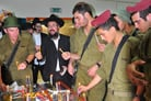 Bringing Light and Joy to IDF Soldiers on Base