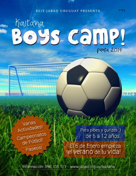 Kaitana BOYS CAMP!