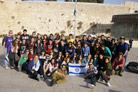 Rabbi Leads a Record 30th Birthright Trip to Israel