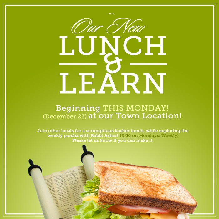 Lunch & Learn | Mondays, 12 PM