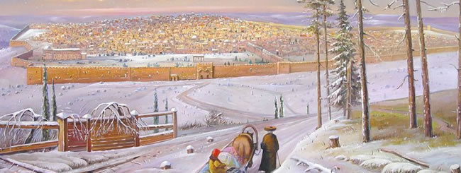 Time in Thought: In Labor During a Jerusalem Snowstorm