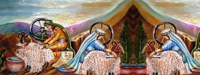 ויקהל: ציור לפרשת ויקהל