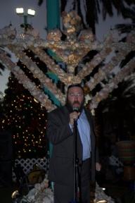 Hanukkah on Lincoln rd 2013