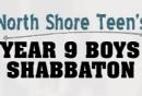 Year 9 Boys Shabbaton