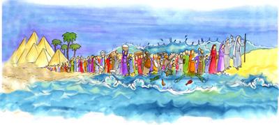 Exodus Painting