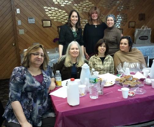 We enjoyed our Torah and Tea!
