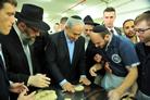 Netanyahu Gets More Than a Taste of Shmurah Matzah