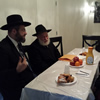 Israel Chief Rabbi Visits the Rebbe's Resting Place on First Day of U.S. Visit