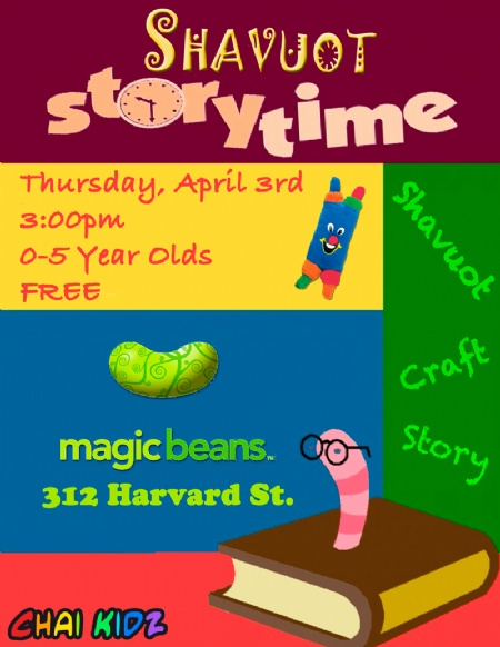 Passover Storytime