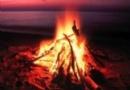 Lag B'Omer - Bonfire at the Beach