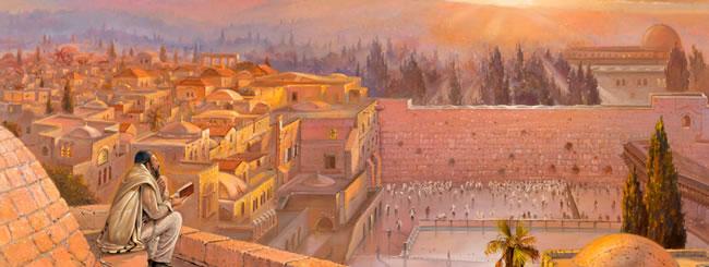 Sunrise in Jerusalem - By <a href=''/k18811''>Alex Levin</a>