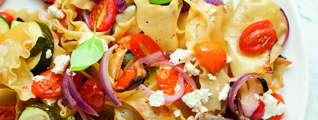 Pasta Salads: Baked Roasted Veggie Pasta