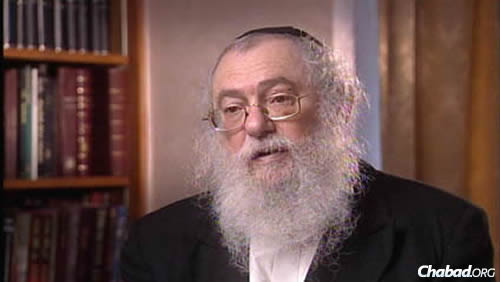 Rabbi Nachman Sudak (Photo: JEM)