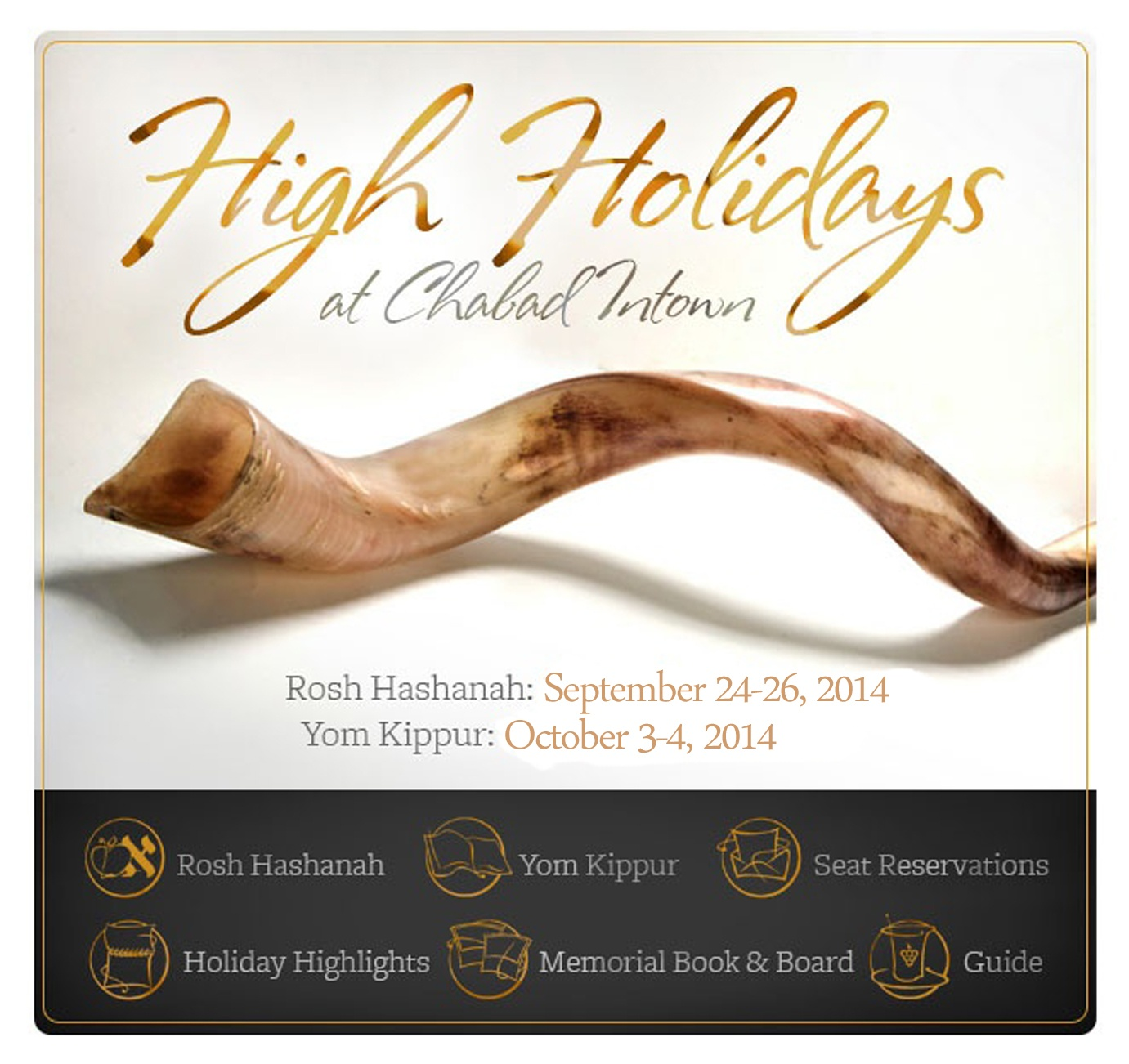 High Holidays with Chabad Intown