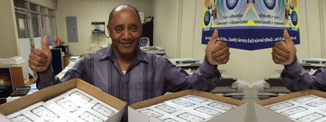 Blog: Printing the Tanya in Trinidad