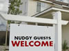 Nudgy Guests Welcome Here