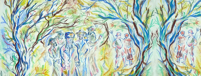 Jewish Art for the Soul: Leaves