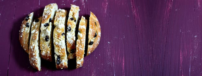 Recipe: Round Raisin Challah with Sweet Crumb Topping