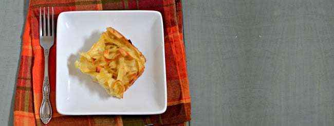 Cook It Kosher: Onion Noodle Kugel