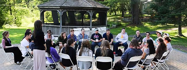North America: CTeen Leaders Recharge Their Batteries at Summer Retreat
