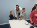 First Day of Hebrew School and Shofar Factory