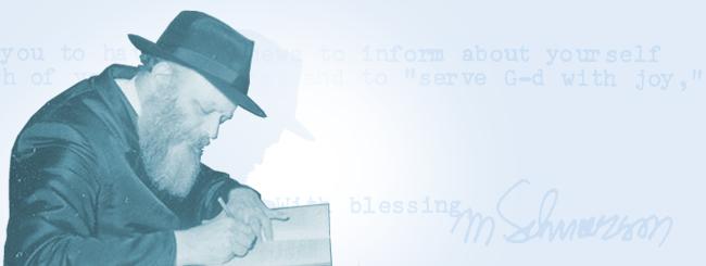 Jüdische Feiertage: Botschaft des Rebbe zu Rosch Haschana