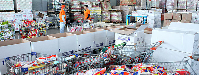 Israel: Helping Put Food on the Holiday Tables of Israelis in Need