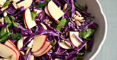 Purple Cabbage & Apple Salad