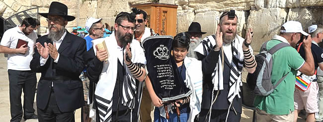 Jewish News: His Brother an IDF Soldier Killed in Gaza, a Moving Bar Mitzvah in Jerusalem