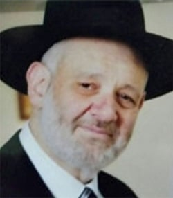 R' Avraham Shmuel Goldberg, 68. (Photo: Israel Ministry of Foreign Affairs)