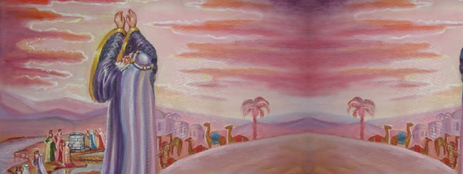 Chayei Sarah Art: Eliezer Finds a Wife for Yitzchak