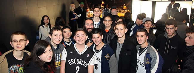 Holiday Watch: Center Court for Chanukah: CTeen Heritage Night at Barclays