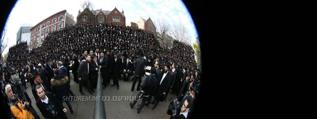 Atualidades: Dois Mil Rabinos em Um Selfie