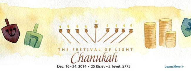 Jewish Holidays: Chanukah—Hanukkah
