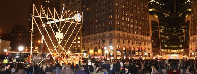 Photo Gallery: From East to West, the Light of Chanukah Warms the World