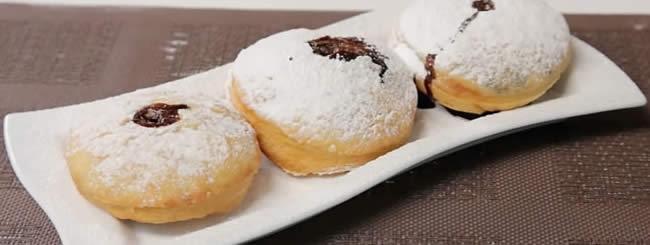 Блоги: Пончики: видеорецепт