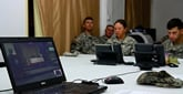 Combating Deadly Ebola in Liberia, Jewish Troops Celebrate Chanukah Online