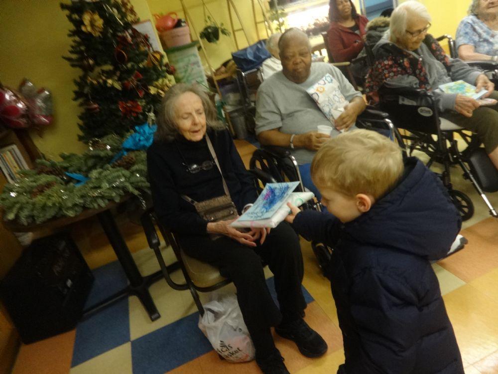 Chanukah Nursing Home Visit 2014