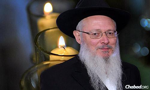 Rabbi Yehoshua Mondshine